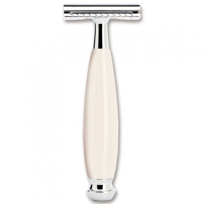 Станок BOKER SAFETY RAZOR RESIN IVORY BK04BO197SOI
